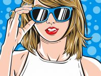Taylor Swift Vector By Member dkv-daily.com ...  Share yours design in dkv-daily.com 		 				 		DKV Daily - Community of Designers