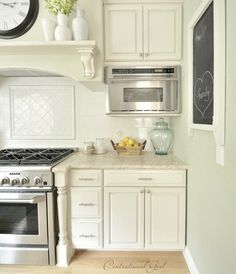 how to hide a microwave building it into a vented cabinet rh pinterest com