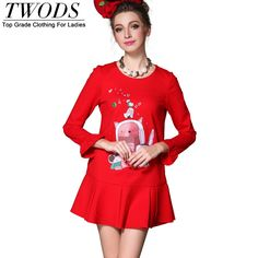 S - 5xl Elegant Drop Waist Flare Mini Dress Long Sleeve Embroidered Party Vestidos Like if you remember http://www.artifashion.net/product/s-5xl-elegant-drop-waist-flare-mini-dress-long-sleeve-embroidered-party-vestidos/ #shop #beauty #Woman's fashion #Products