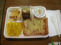 Old school lunch!