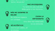 7 Consejos para Escribir Buenos Textos | Infografía
