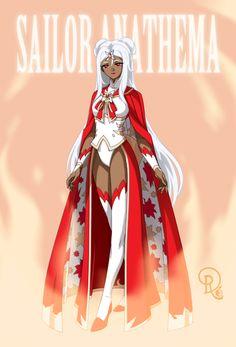 Sailor Anathema Sailor Moon Girls, Sailor Moon Fan Art, Sailor Moon Character, Disney Princess Tattoo, Sailor Princess, Punk Princess, Anime Oc, Female Anime, Alternative Disney Princesses