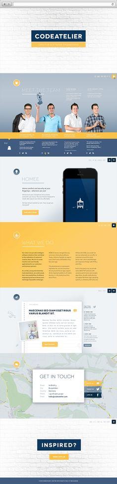 #web #inspiration #flat #ui #2013