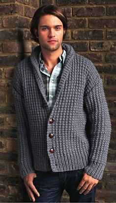 MADE TO ORDER men hand knitted cardigan hooded turtleneck sweater cardigan men clothing wool handmade men's knitting aran cabled crewneck Shawl Collar Cardigan, Ribbed Cardigan, Sweater Cardigan, Men Sweater, Hand Knitted Sweaters, Hand Knitting, Knitting Patterns, Clothes, Men's Cardigans