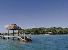 En las cristalinas aguas azules que imitan el cielo azul, se encuentra uno de los espacios más exclusivos de Fiyi.
