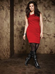 Ashley Graham, Addition Elle, plus size, footwear