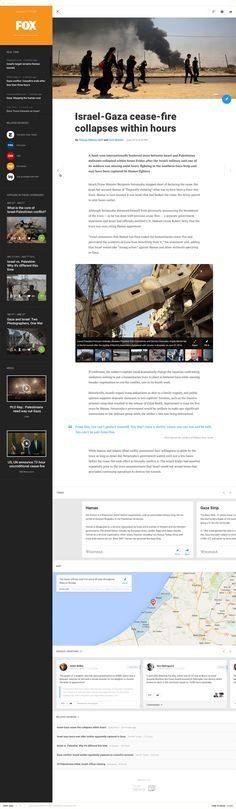 Usability Article view  Redesign Concept Introducing the new UX and UI for Google News platform George Kvasnikov  ·10/2014