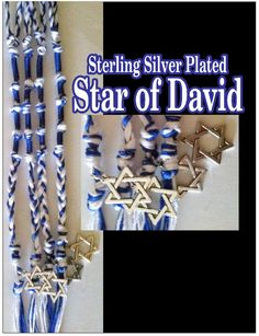 Star of David Tzitzits by AriellaHannah on Etsy