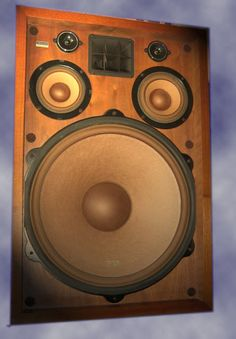 Vintage Pioneer CS99A speakers. Click photo for more pics and the story.