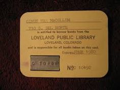 Library Card used in Gaylord or Dickman style checkout systems (see below). 1970s Childhood, Vintage Library, I Card, The Book, Writing, Library Cards, Public, Books, 1980s