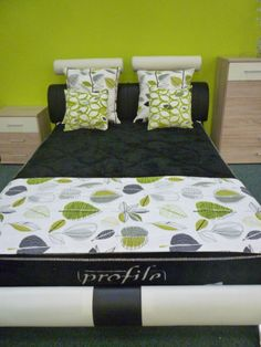 Bedroom Decor Lime Green green and grey bedding sets | rizzy home aragon 11 piece comforter