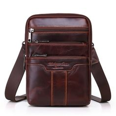Check it on our site genuine leather small messenger bags for men crossbody shoulder bag male cowhide handbags casual business travel bags just only $27.60 with free shipping worldwide  #crossbodybagsformen Plese click on picture to see our special price for you