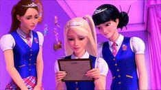 Princess Academy, Barbie Princess, Teen Movies, Good Movies, Kim Jennie, Princess Charm School, Barbie Drawing, Barbie Movies, Barbie Collection