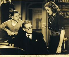 Mickey Rooney as Andy Hardy in 'A Family Affair' (1937) ...