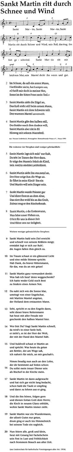 Saint Martin, Saint Martin von Tours / Songs / Saint Martin ritt durch Schnee und Wind Source by fra Martin Von Tours, Kids Lantern, Music And Movement, German Language, Teaching Music, Kids Songs, Diy For Kids, Sheet Music, School