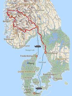 Norway Roadtrip, Norway Travel, Lillehammer, Kristiansand, Stavanger, Odense, Bergen, Wanderlust, Places To Travel