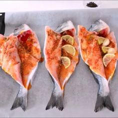 Fish lovers are here balık In a delicious oven with delicious sauce .- Fish l.- Fish lovers are here balık In a delicious oven with… - Basa Fish Recipes, Fresh Fish Recipes, Grilled Fish Recipes, Chicken Recipes For Two, Shredded Chicken Recipes, Meat Recipes, Fun Recipes, Lemon Fish, Turkish Recipes