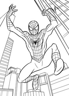 73 Top Spiderman Coloring Pages A4 For Free