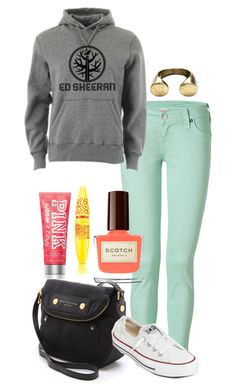 """""""Untitled #731"""" by stilababe09style ❤ liked on Polyvore featuring True Religion, Marc by Marc Jacobs, Converse, Maybelline and Victoria's Secret"""