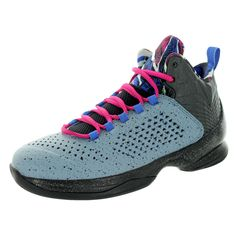 check out fcd03 6099f Jordan Kid s Jordan Melo M11 Bg  Metallic Silver Black Frbrr Basketball Shoe