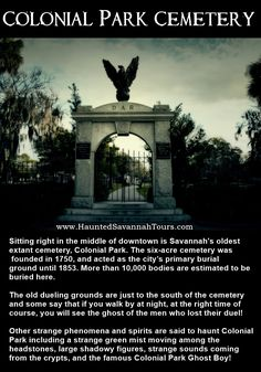 Savannah Ghost Tours with Haunted Savannah Tours. Colonial Park Cemetery Ghost and Savannah Georgia Ghost. Paranormal Stories True, True Horror Stories, Ghost Stories, Savannah Tours, Savannah Chat, Savannah Georgia, Cool Places To Visit, Places To Go, Short Creepy Stories
