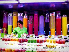 Ramblas street, Boqueria Market