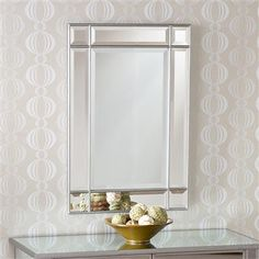Mirage Beveled Mirror Love Mirrors Could See This In Bathroom