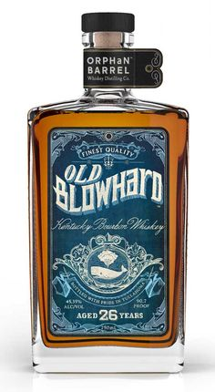 Today we're sharing our review of their second release, Old Blowhard Bourbon, which is a 26 year old whiskey distilled at the Old Bernheim Distillery and eventually stored at Stitzel-Weller until Diageo decided to bring it to market as part of strategy to release unique and rare bourbons to the market.