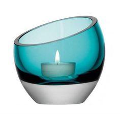 Glass candle holder LAZLO   Candle holder GAUTIER FRANCE