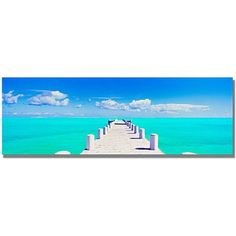 "Trademark Art ""Turks Pier"" Canvas Wall Art by Preston"