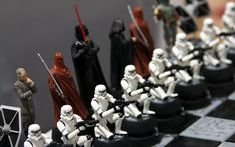 Travel to a Galaxy Far, Far Away with a Star Wars Chess Set! - Travel to a Galaxy Far, Far Away with a Star Wars Chess Set Star Wars chess sets are the perfect w - Diy Chess Set, Modern Chess Set, Glass Chess Set, Chess Set Unique, Game Of Thrones Chess, Harry Potter Chess Set, Star Wars Chess Set, Dragon Chess, Luxury Chess Sets
