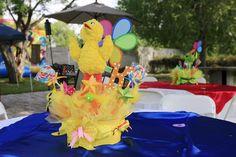"Photo 33 of 196: Sesame Street / Birthday ""Kailan's Sesame Street Celebration""   Catch My Party"