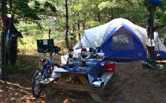 Now that the weather has cooled down it's a great time to camp!  Most of Delaware State Parks offer great spaces for your family.