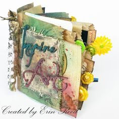 "Makin's Clay® Blog: Shabby Chic ""Junk Journal"" by Erin Reed"