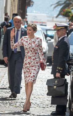 The former-journalist made sure that all eyes were on her this afternoon stepping out in a...