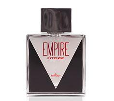 EMPIRE INTENSE HINODE código: 1535241 Empire Intense para homens que querem ainda mais. De fragrância marcante e única, Empire traduz exatamente o perfil do homem decidido e que sabe onde quer chegar. Empire, feito para homens que constroem o futuro. R$ 135,00
