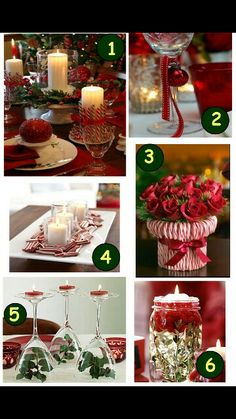 Christmas Dinner Table Decorations 50 stunning christmas table settings | holidays, christmas decor
