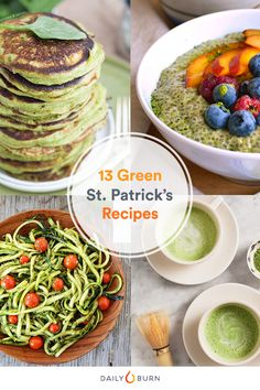 Whether you're hosting a party or simply want to green-ify your grub in a natural way, try out these healthy St. Patrick's Day recipes. via @dailyburn