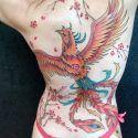 phoenix-tattoo-with-cherryblossom