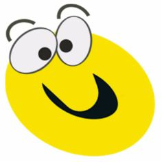 Big Yellow Smilies Faces | Big-Eyed Yellow Cartoon Smiley Face Photo Cutouts from Zazzle.com