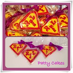 amazing relay for life campsite | Relay For Life Super Hero Cookies