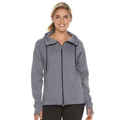Women's Tek Gear® High-Low Fleece Hoodie,