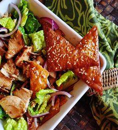 Mississippi Kitchen: Asian Ginger Chicken Salad With Crispy Wontons