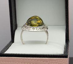 Sterling Silver 925 Gemstone Ring - TGGC/Gemporia