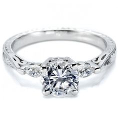 vintage engagement rings | Vintage Engagement Ring – Tacori HT2198 | Weddingbells.ca