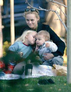 Vanessa and her babies