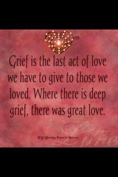 Great love never dies..