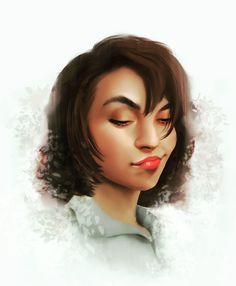 Portrait Art, Portraits, Red Lipsticks, Artist, Instagram, Artists, Portrait Paintings, Amen, Portrait
