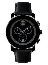 All black chronograph