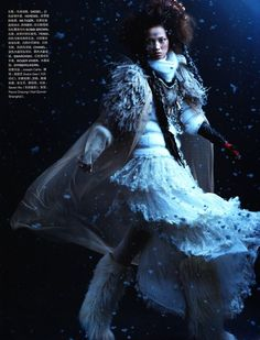 Image result for tatler snow queen fashion editorial